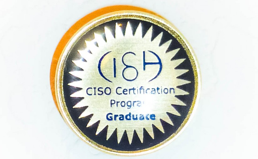 CISOA Certification Program Lapel Pin